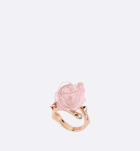 Bague Rose Dior Pré Catelan PM Vue de face