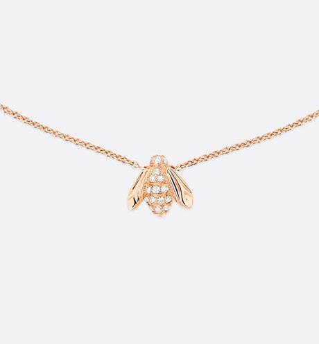 Collier Rose Dior Pré Catelan aria_frontView