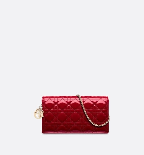 Pochette Lady Dior Vue de face