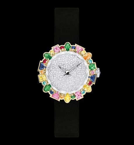 La D de Dior Mini Cocotte 시계 aria_frontView