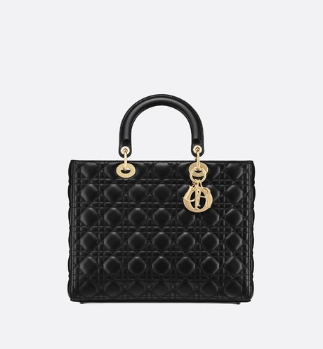 Grote Lady Dior-tas aria_frontView