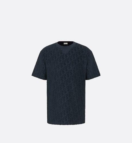 Oversized T-shirt met Dior Oblique-motief aria_frontView