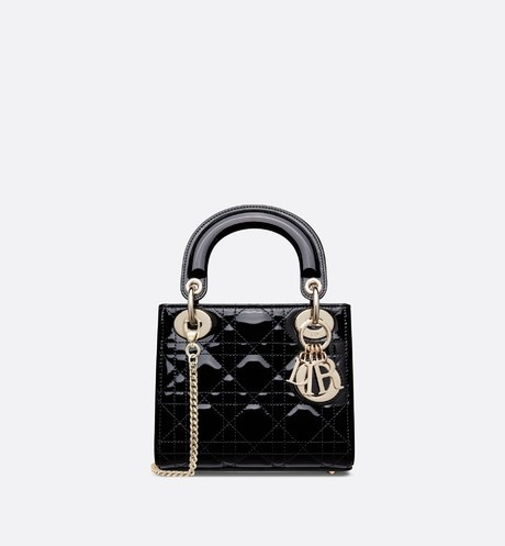 Mini Lady Dior-tas aria_frontView
