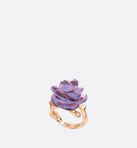 Anel Rose Dior Pré Catelan pequeno aria_frontView