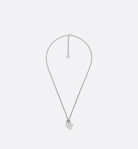 Dior Oblique 吊墜頸鏈 aria_frontView